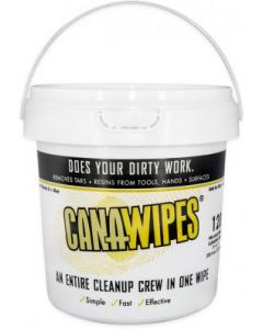 CAN-A-WIPES Cleaning Wipes, 120 count tub
