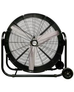 Hurricane Pro Heavy Duty Adjustable Tilt Drum Fan 42 in