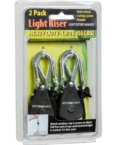 1/8'' Light Riser Hanging Sys Heavy Duty (2 per)