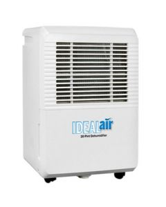 Ideal-Air Dehumidifier 22 Pint - Up to 30 Pints Per Day