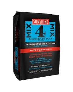Sunshine Mix # 4 w/ Mycorrhizae 3.0 cu ft  (Freight/In-Store Pickup Only)