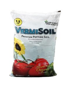 Vermicrop VermiSoil Premium Potting Soil 1.5 cu ft (Freight/In-Store Pickup Only)