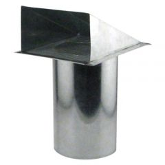 Ideal-Air Screened Wall Vent 6 in