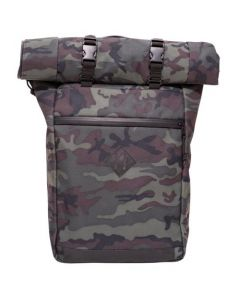 Abscent Scout Roll-Top Backpack - Black Forest